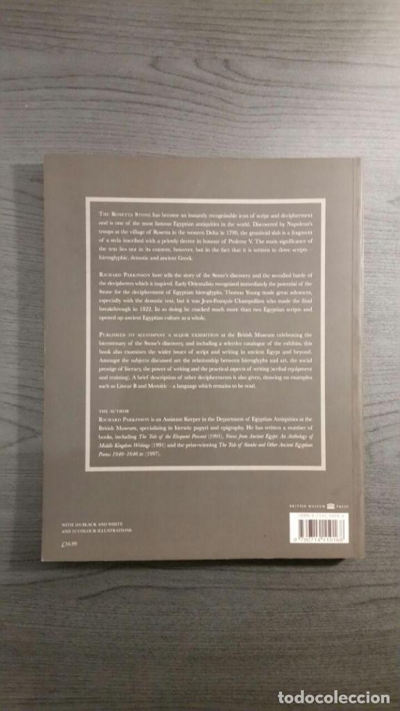 Libros de segunda mano: Cracking Codes: The Rosetta Stone and Decipherment - Foto 3 - 147740430