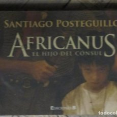 Libros de segunda mano: SANTIAGO POSTEGUILLO. AFRICANUS. EDICIONES B. 1ª EDICIÓN, MINILIBRINOS PAPEL BIBLIA, NOVIEMBRE 2010.. Lote 201292443