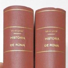 Libros de segunda mano: HISTORIA ROMANA - TITO LIVIO. Lote 151973838