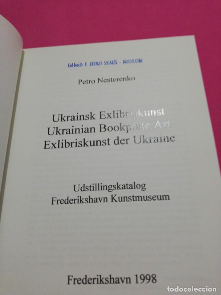 Libros de segunda mano: Ukrainian bookplate art, ex libris ilustrado - Foto 3 - 148656218