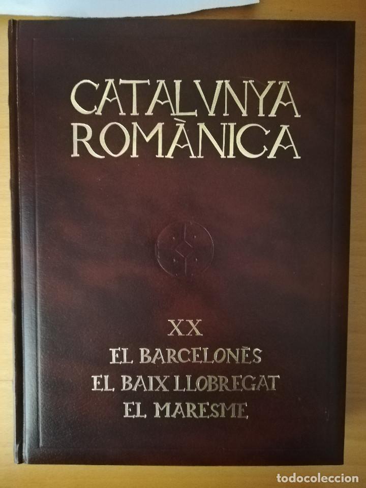 CATALUNYA ROMÀNICA. XX EL BARCELONÈS, EL BAIX LLOBREGAT, EL MARESME (ENCICLOPÈDIA CATALANA) (Libros de Segunda Mano - Historia Antigua)