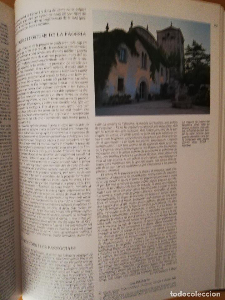 Libros de segunda mano: CATALUNYA ROMÀNICA. XX EL BARCELONÈS, EL BAIX LLOBREGAT, EL MARESME (ENCICLOPÈDIA CATALANA) - Foto 6 - 149188750