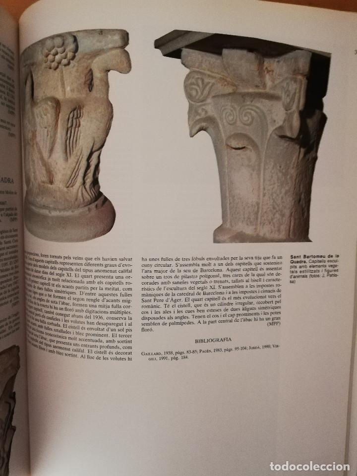 Libros de segunda mano: CATALUNYA ROMÀNICA. XX EL BARCELONÈS, EL BAIX LLOBREGAT, EL MARESME (ENCICLOPÈDIA CATALANA) - Foto 8 - 149188750