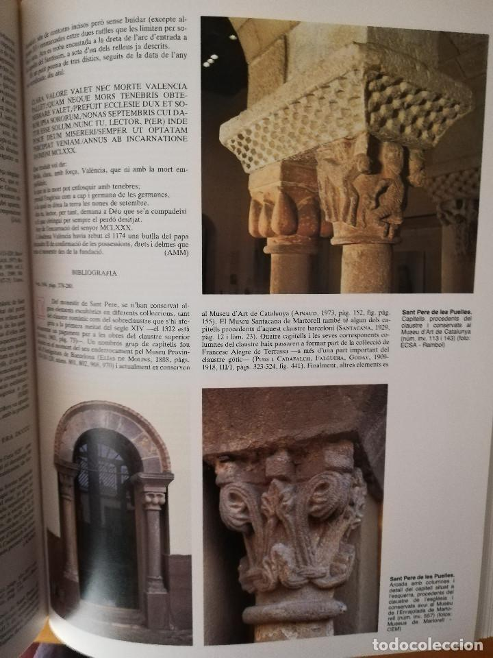 Libros de segunda mano: CATALUNYA ROMÀNICA. XX EL BARCELONÈS, EL BAIX LLOBREGAT, EL MARESME (ENCICLOPÈDIA CATALANA) - Foto 11 - 149188750