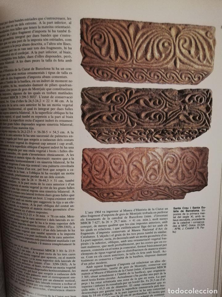 Libros de segunda mano: CATALUNYA ROMÀNICA. XX EL BARCELONÈS, EL BAIX LLOBREGAT, EL MARESME (ENCICLOPÈDIA CATALANA) - Foto 13 - 149188750