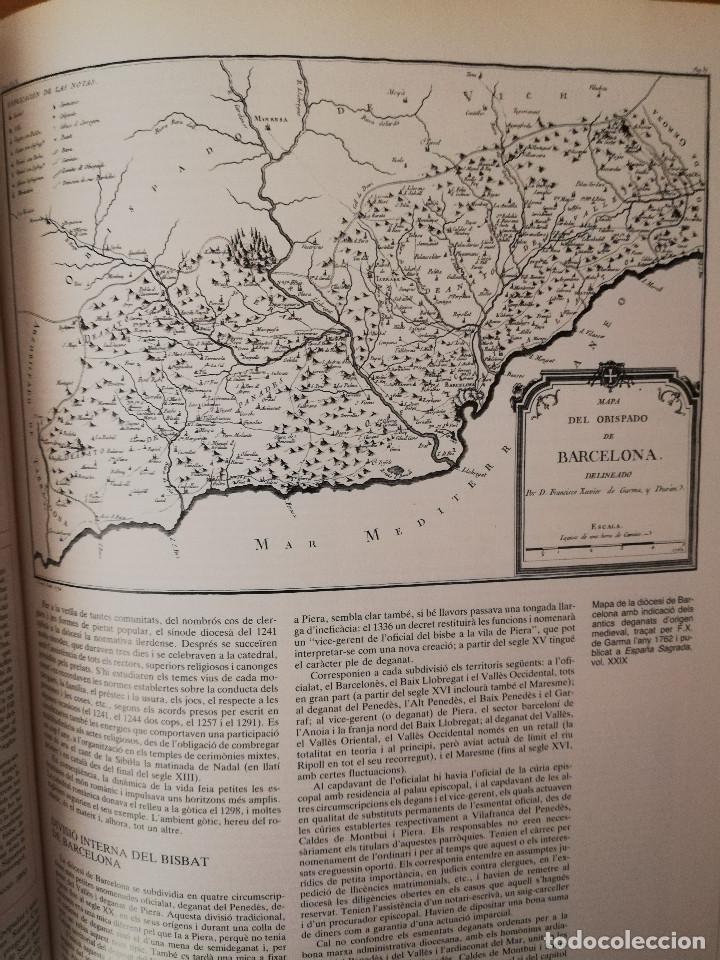 Libros de segunda mano: CATALUNYA ROMÀNICA. XX EL BARCELONÈS, EL BAIX LLOBREGAT, EL MARESME (ENCICLOPÈDIA CATALANA) - Foto 17 - 149188750
