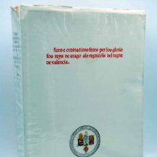Libros de segunda mano: FURS E ORDINATIONS FETES POR LOS GLORIOSOS REYS DE ARAGÓ ALS REGNÍCOLS DEL REGNE DE VALENCIA. , 1977. Lote 149470756