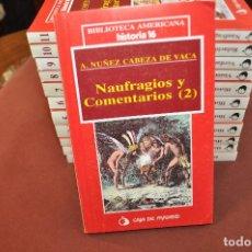 Libros de segunda mano: HISTORIA AMERICANA HISTORIA 16 - COMPLETA 12 TOMOS - ACB. Lote 149516394