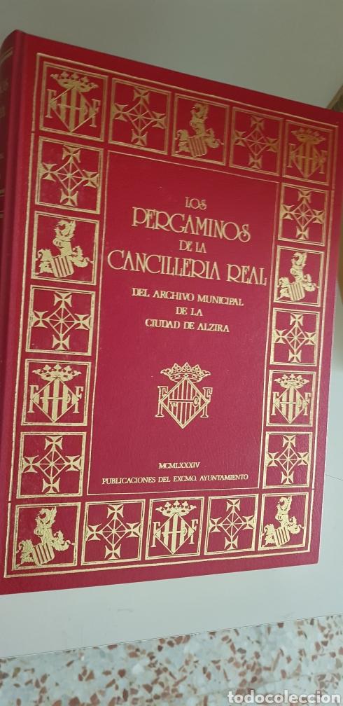 LOS PERGAMINOS DE LA CANCILLERIA REAL DEL ARCHIVO MUNICIPALDE LA CIUDAD DE ALZIRA. (Libros de Segunda Mano - Historia Antigua)