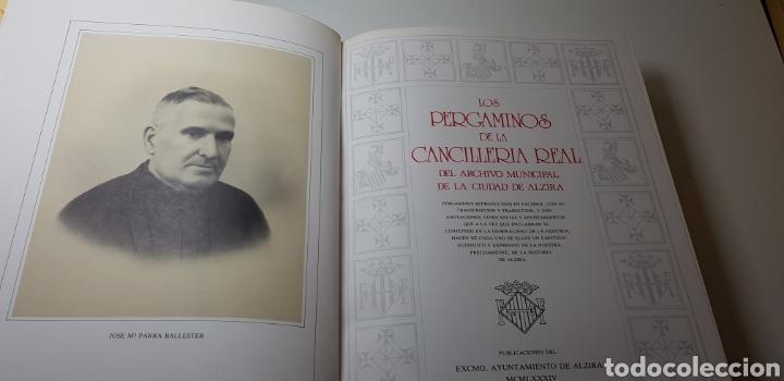 Libros de segunda mano: Los pergaminos de la Cancilleria Real del archivo municipalde la ciudad de Alzira. - Foto 2 - 150226202