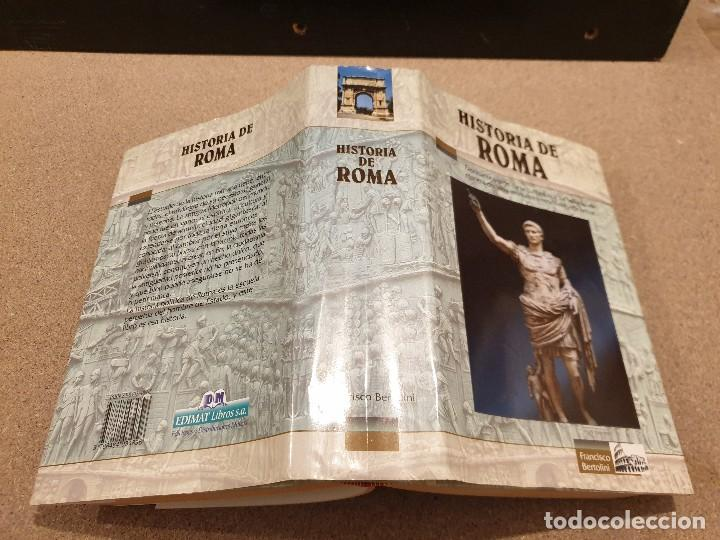 Libros de segunda mano: HISTORIA DE ROMA....... ..FRANCISCO BERTOLINI......1999 - Foto 2 - 150257230
