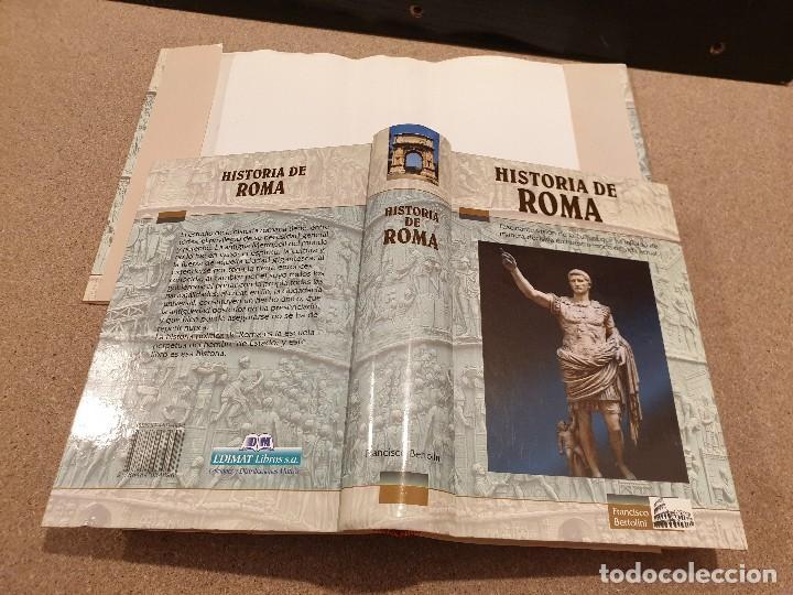 Libros de segunda mano: HISTORIA DE ROMA....... ..FRANCISCO BERTOLINI......1999 - Foto 3 - 150257230