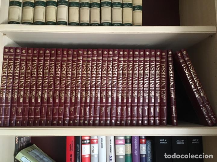 Libros de segunda mano: Gran Historia Universal 1986 - Foto 2 - 151901201
