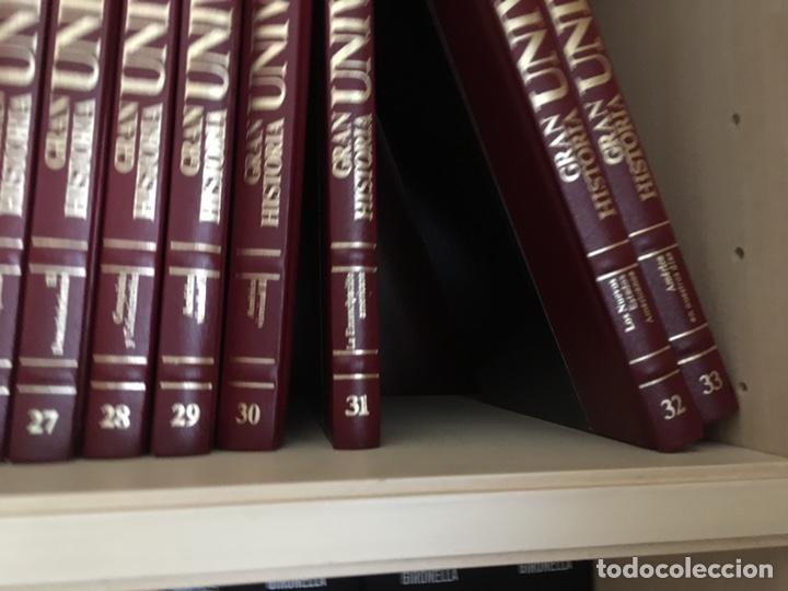 Libros de segunda mano: Gran Historia Universal 1986 - Foto 3 - 151901201