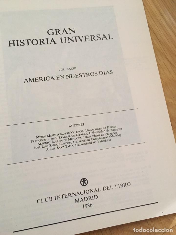 Libros de segunda mano: Gran Historia Universal 1986 - Foto 4 - 151901201