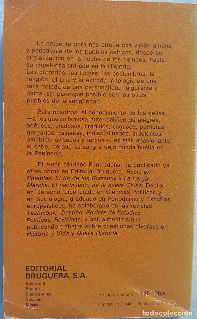 Libros de segunda mano: LOS CELTAS Y SUS MITOS. MARIANO FONTRODONA - Foto 2 - 151904958