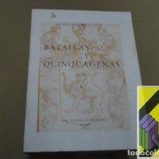Libros de segunda mano: FERNANDEZ DE OVIEDO, GONZALO:BATALLAS Y QUINQUAGENAS. TOMO I .... Lote 152175838