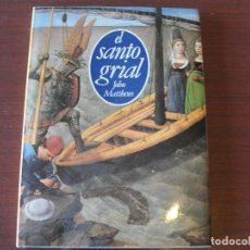 Libros de segunda mano: EL SANTO GRIAL - MATTHEWS - DEBATE 1ª EDIC - CRUZADAS - EDAD MEDIA - STOCK DE LIBRERIA IMPECABLE. Lote 152321290