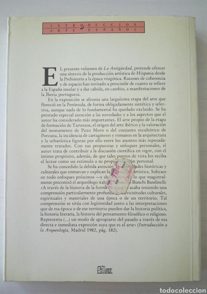 Gebrauchte Bücher: LA ANTIGUEDAD DE LA PREHISTORIA A LOS VISIGODOS - MANUEL BENDALA GALAN - SILEX 1990 - Foto 14 - 152344146
