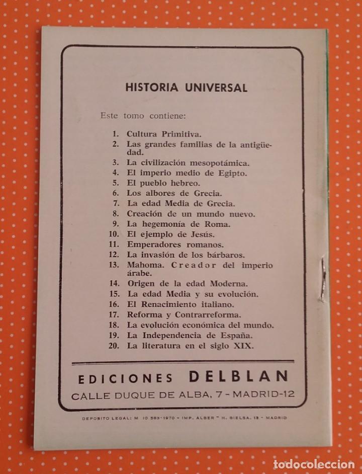 Libros de segunda mano: LA HEGEMONÍA DE ROMA. MOSAICO CULTURAL. HISTORIA UNIVERSAL 9. DELBLAN. 1970. - Foto 2 - 152351818