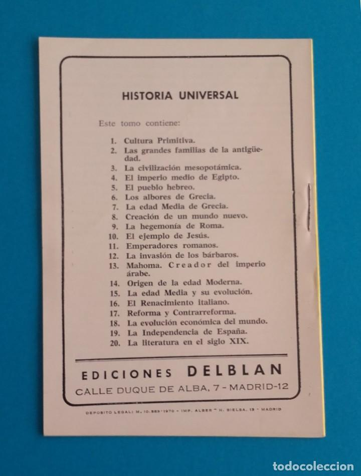 Libros de segunda mano: EMPERADORES ROMANOS. MOSAICO CULTURAL. HISTORIA UNIVERSAL 11. DELBLAN. 1970. - Foto 2 - 152351990