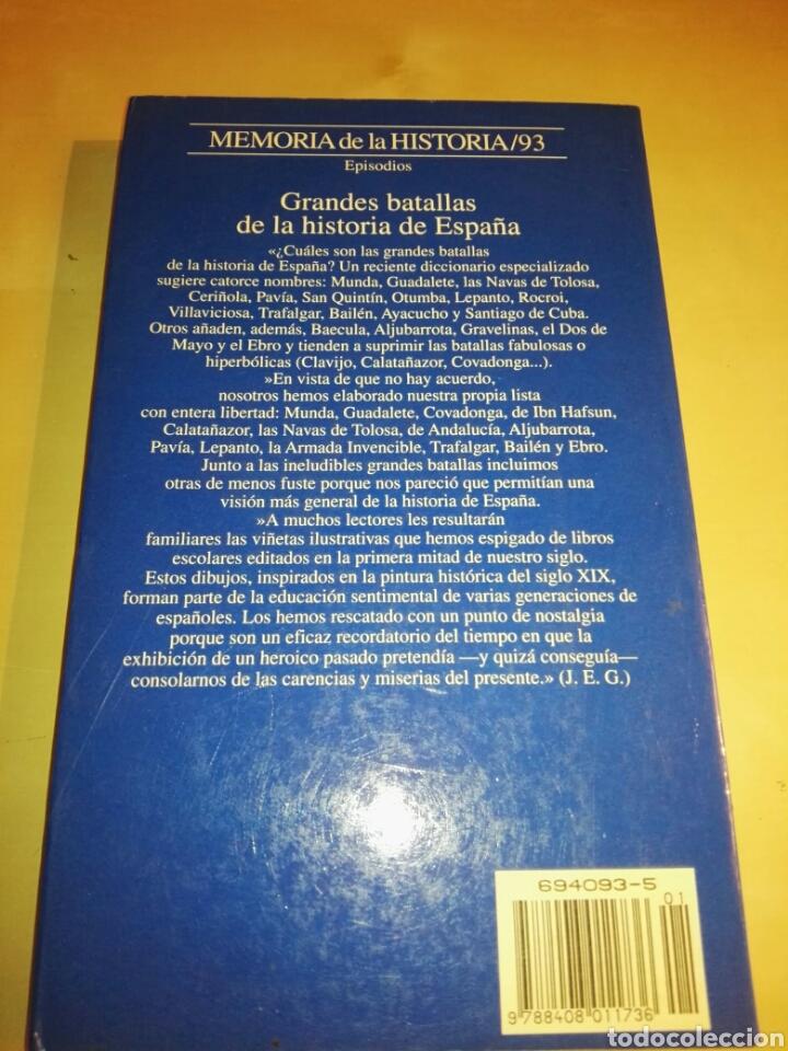 Libros de segunda mano: GRANDES BATALLAS DE LA HISTORIA DE ESPAÑA # JUAN ESLAVA GALAN - Foto 2 - 151906557