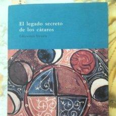 Libri di seconda mano: EL LEGADO SECRETO DE LOS CATAROS, FRANCESCO ZAMBON, SIRUELA. Lote 153359058