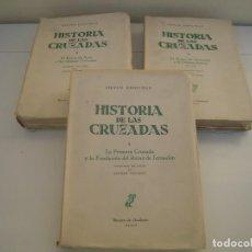 Libros de segunda mano: HISTORIA DE LAS CRUZADAS COMPLETA. Lote 154402870