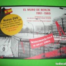 Libros de segunda mano: EL MURO DE BERLIN 1961 - 1989 - VOLKER VIERGUITZ - ARCHIVO FOTOGRAFICO - ( LIBRO + DVD ). Lote 155258926