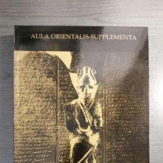 Libros de segunda mano: DICCIONARIO DE LA LENGUA UGARITICA, (2 VOLS) . Lote 155455102