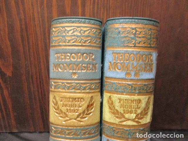 Gebrauchte Bücher: THEODOR MOMMSEN - HISTORIA DE ROMA VOLÚMENES I Y II. - Foto 2 - 155860214