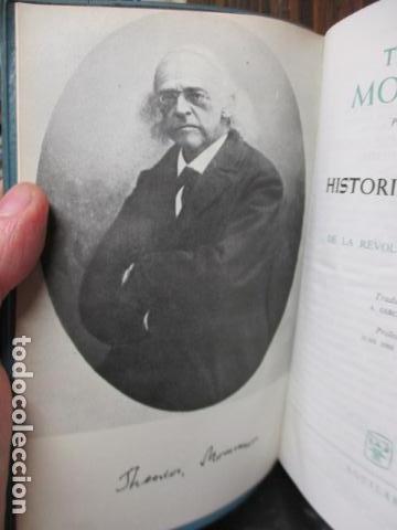 Gebrauchte Bücher: THEODOR MOMMSEN - HISTORIA DE ROMA VOLÚMENES I Y II. - Foto 9 - 155860214