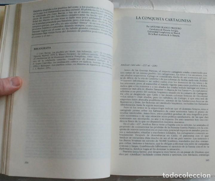 Libros de segunda mano: TOMO Historia 16 - Historia de España. La España antigua.De Altamira a Sagunto AÑO 1990 - Foto 4 - 155866054