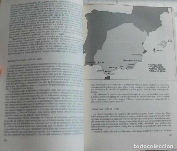 Libros de segunda mano: TOMO Historia 16 - Historia de España. La España antigua.De Altamira a Sagunto AÑO 1990 - Foto 5 - 155866054