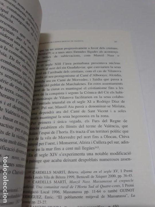 Libros de segunda mano: Somis i realitats de lhorta migeval de Valéncia Limaginari dels llauradors: espai, temps i bens - Foto 9 - 156549338