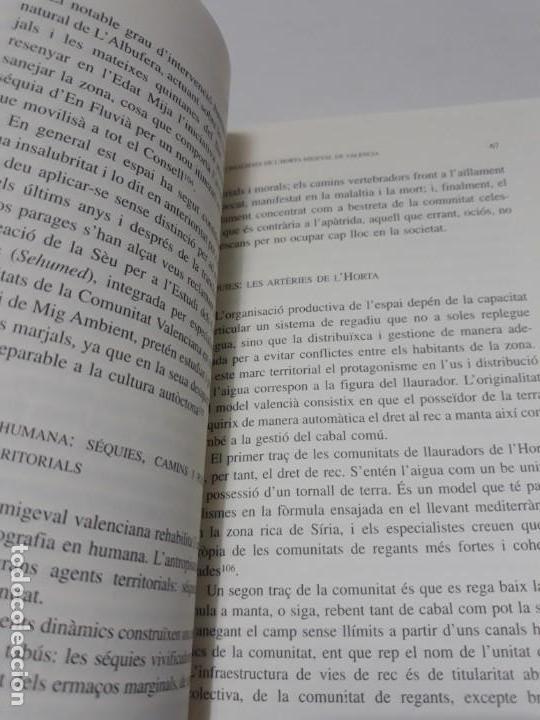 Libros de segunda mano: Somis i realitats de lhorta migeval de Valéncia Limaginari dels llauradors: espai, temps i bens - Foto 10 - 156549338