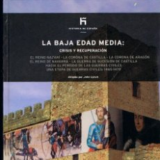 Libros de segunda mano: LA BAJA EDAD MEDIA: CRISIS Y RECUPERACIÓN, DIRIGIDO POR JOHN LYNCH. Lote 156721418