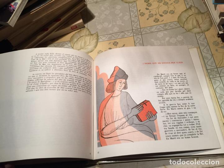 Libros de segunda mano: Antiguo libro viatge per la historia de Catalunya años 70 Cavall Fort. - Foto 4 - 158313294