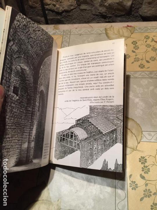 Libros de segunda mano: Antiguo libro l'església romànica de Sant Ponç de Corbera Segle XI año 1974 - Foto 4 - 158448542