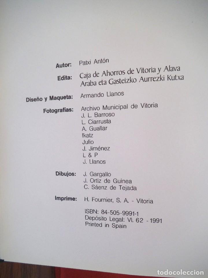 Libros de segunda mano: GASTRONOMIA EN ALAVA POR PATXI ANTÓN. 1991 - Foto 2 - 158459510