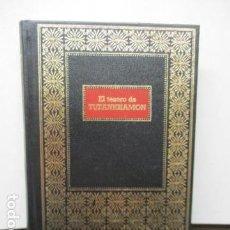 Libros de segunda mano: EL TESORO DE TUTANKHAMON - BIBLIOTECA HISTÓRICA (ENIGMAS Y MISTERIOS) - URBION - TUTANKAMON. Lote 158882962