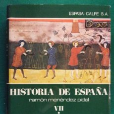 Libros de segunda mano: LA ESPAÑA CRISTIANA DE LOS SIGLOS VII AL XI. EL REINO ASTUR LEONÉS (722-1037) / TOMO VII - VOLUMEN I. Lote 159070958