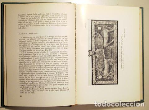 Libros de segunda mano: BASSA I ARMENGOL, Manuel - ORIGEN DE L'ESCUT CATALÀ. Estudi històrica - Barcelona 1961 - Il·lustrat - Foto 3 - 159332453