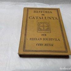 Libros de segunda mano: HISTORIA DE CATALUNYA. Lote 159343102
