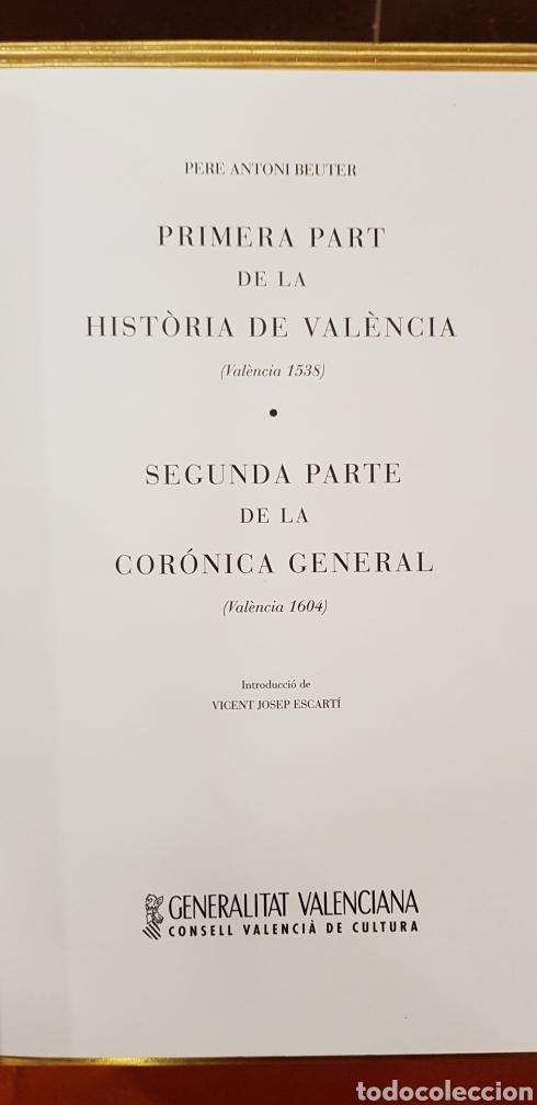 Libros de segunda mano: CRONIQUES DE VALENCIA,facsimil - Foto 2 - 160106717