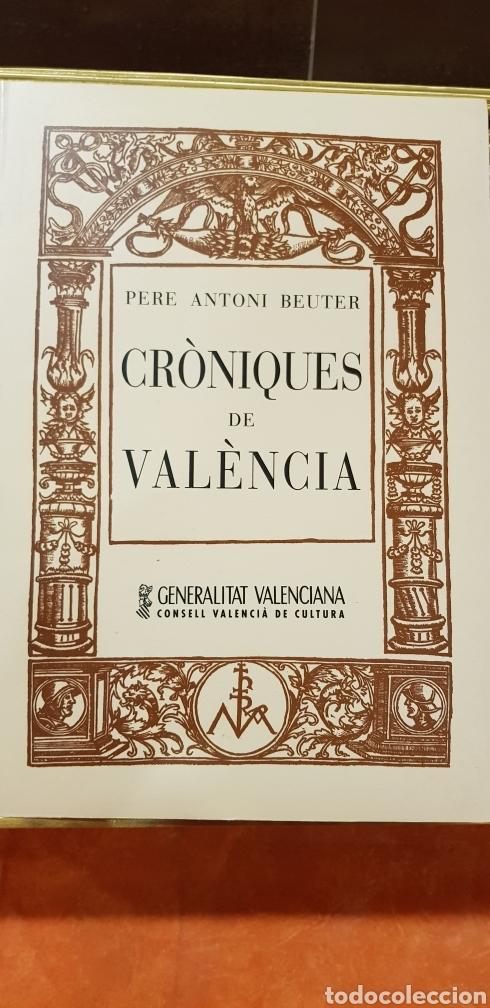 CRONIQUES DE VALENCIA,FACSIMIL (Libros de Segunda Mano - Historia Antigua)