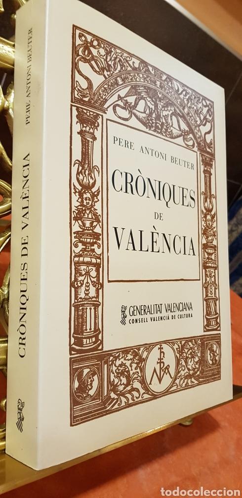 Libros de segunda mano: CRONIQUES DE VALENCIA,facsimil - Foto 7 - 160106717