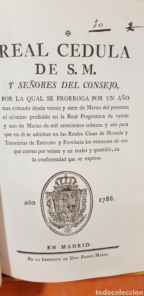 Libros de segunda mano: PROVIDENCIAS DEL CONSEJO,1788,facsimil. - Foto 6 - 160783738