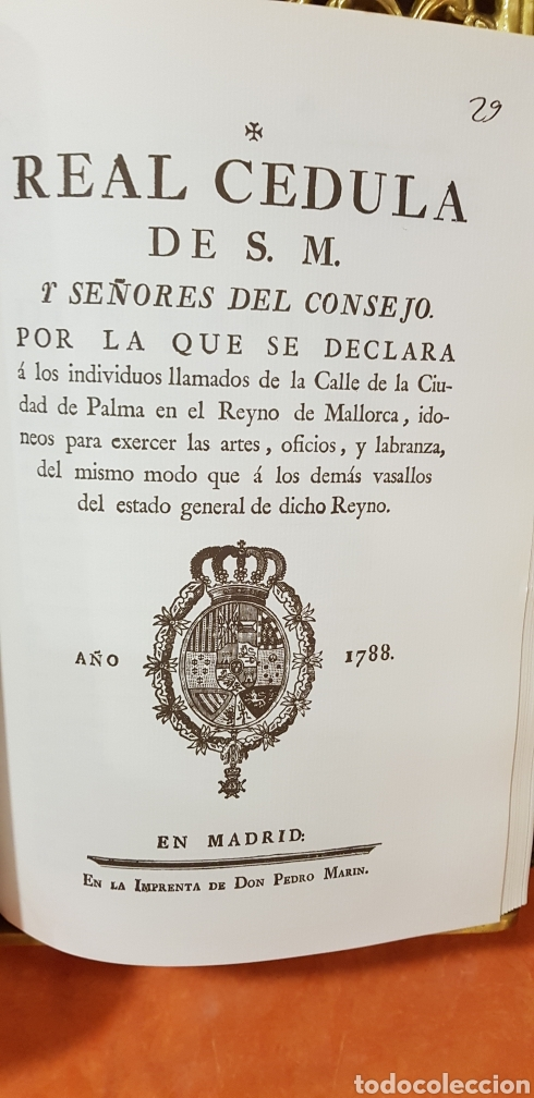 Libros de segunda mano: PROVIDENCIAS DEL CONSEJO,1788,facsimil. - Foto 8 - 160783738
