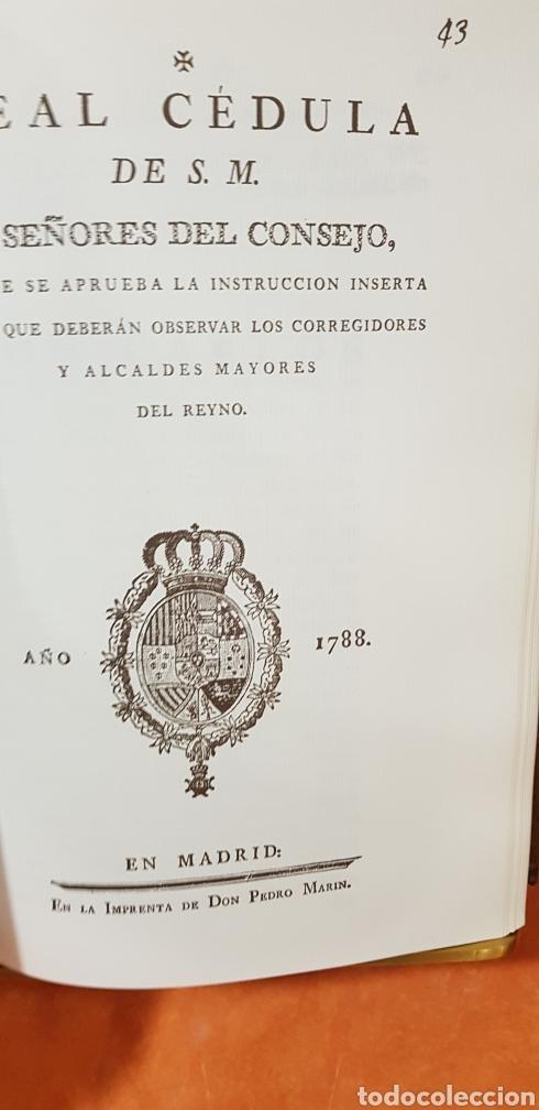 Libros de segunda mano: PROVIDENCIAS DEL CONSEJO,1788,facsimil. - Foto 9 - 160783738